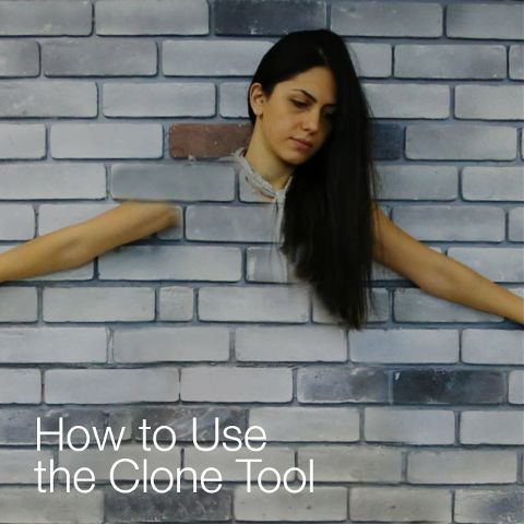 how to use PicsArt Clone Tool
