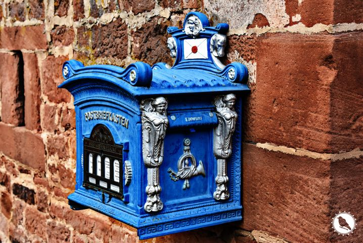 blue,mailbox,photography,colorful