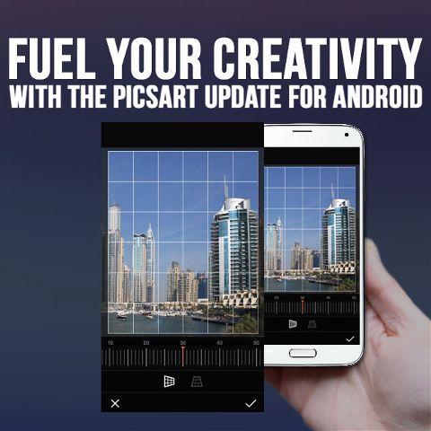 Picsart app Android version update