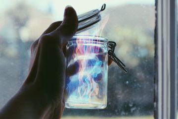 magic fire art