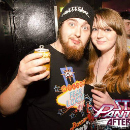 glasgow couple jasmine steelpanther afterparty