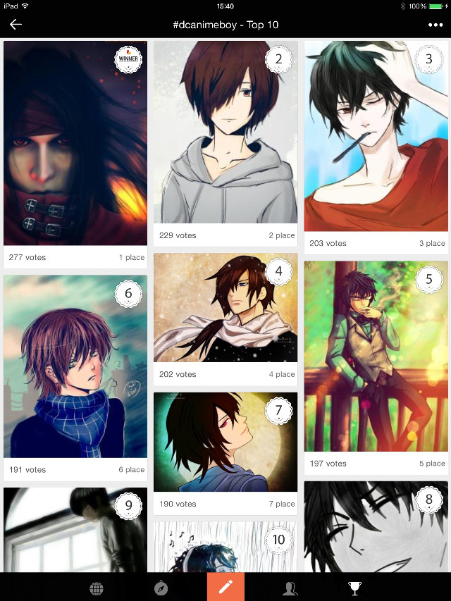 For my first Pa art project, my anime boy is 4th & 7th. I never thought before that I would have so many votes as this...thank you so much for all your votes, likes and repost my drawing pics...Everything you make is meaningful to me my dear friends...thanks for always support me..thank u thank u.  #emotions #quotes & sayings #contest #anime boy