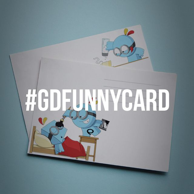 funny card graphic design contest