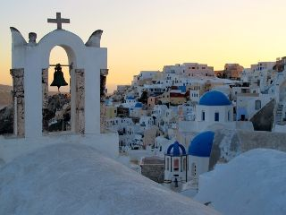 greece santorini island