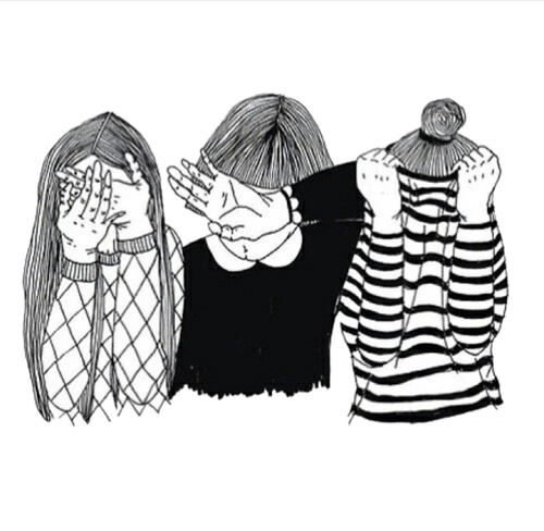three grunge draw indierock girls people music love