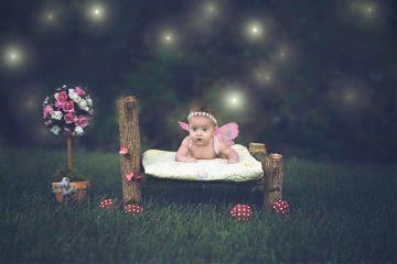 playground art fantasy baby butterflies