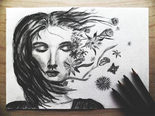 wapdramaeffect pencilart emotions pencil