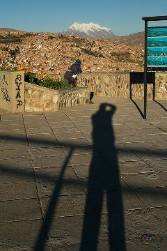 photographer shadow