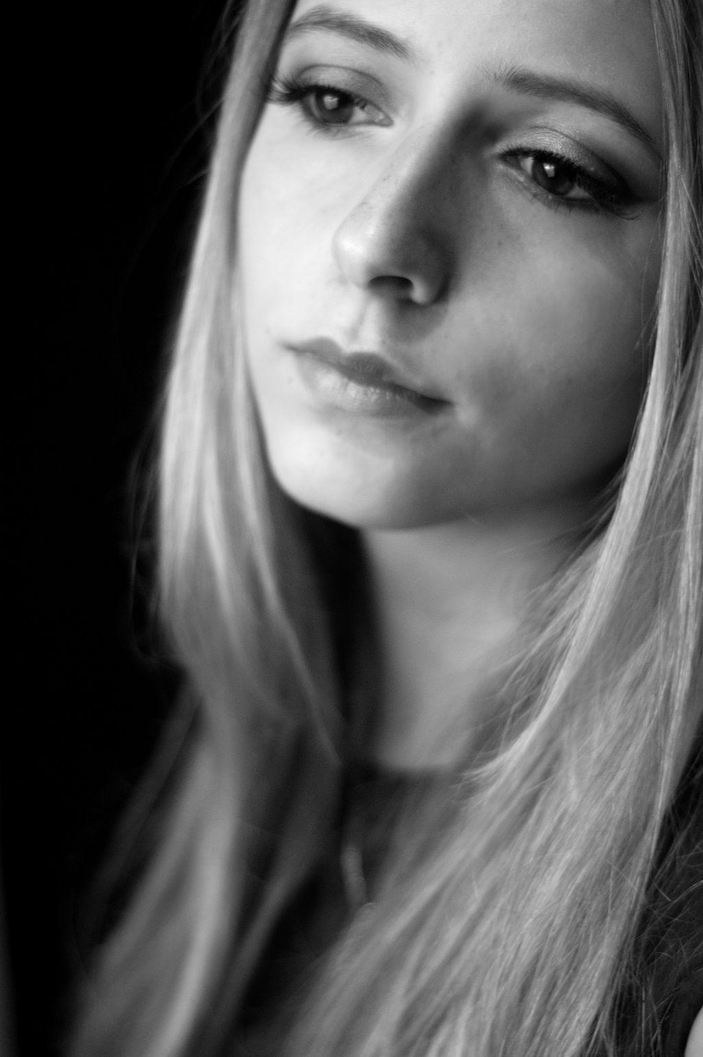 #blackandwhite #freetoedit #people #photography #summer #me #edited #makeup