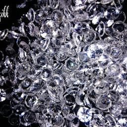 hdr photography diamonds crystal