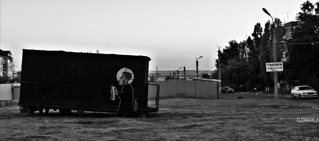 #photography #blackandwhite #streetart #urban