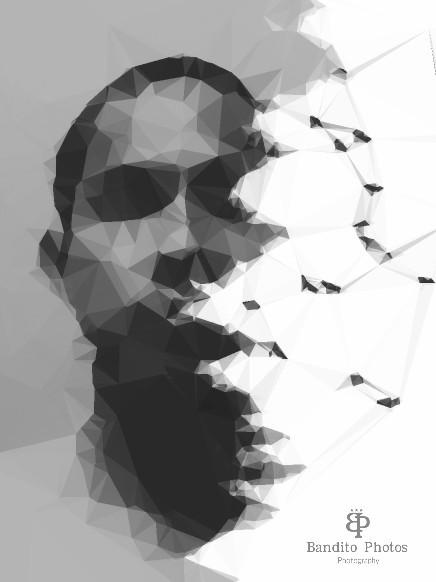 #photography  #polygon #blackandwhite  #illustration #undefined #doubleexposure