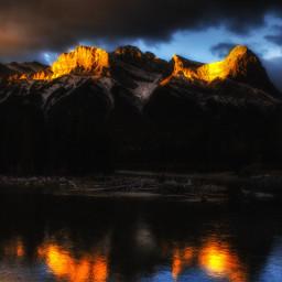photography landscape mountain nature alberta