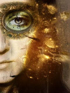 papereffect art emotions people golden