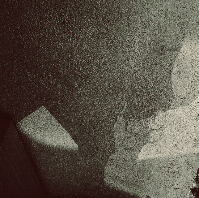 #shadow #me #spectacles #frame #reflecting shadow #experiment #interesting #black & white #photography #people #wall #texture