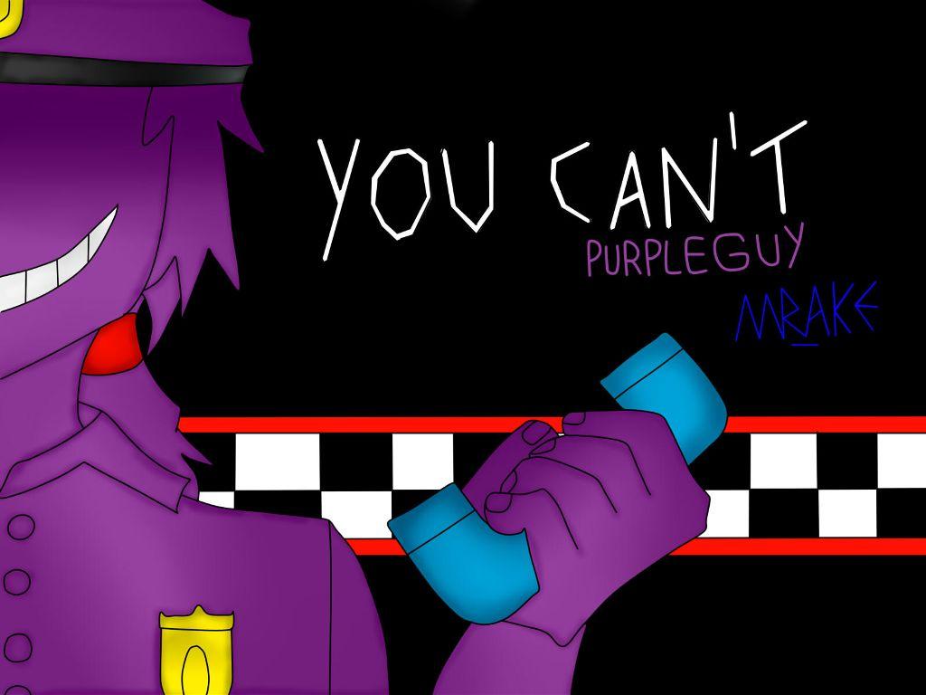 My Fan Art N4 Game Fanart Purpleguy Vincent Fnaf