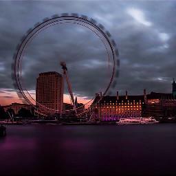 london londondreams londoneye longexposure dusk