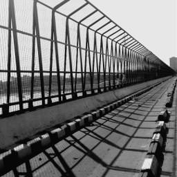 blackandwhite flyover road bridge yamuna