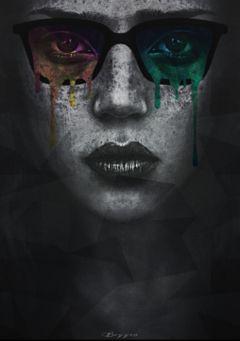 blackandwhite colorsplash edited people artistic